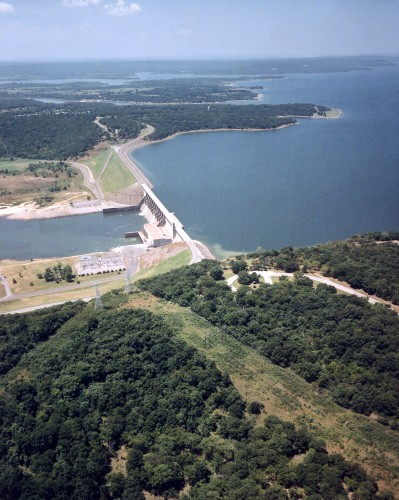 USACE_Eufaula_Lake_and_Dam_Oklahoma