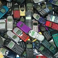 many-old-mobile