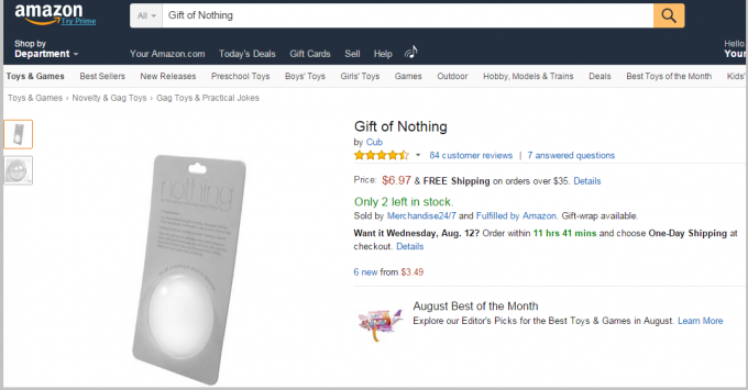 amazon_nothing