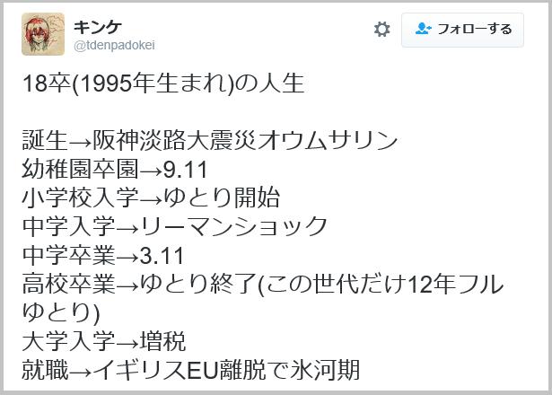 生まれ 年 平成 7